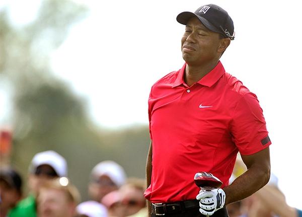Tiger Woods at the 2014 Honda Classic