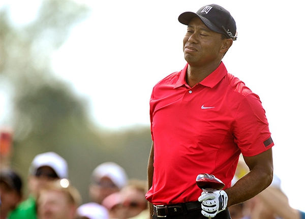 Tiger Woods at the 2014 Honda Classic