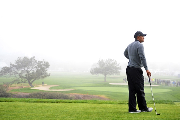 Tiger Woods at the 2015 Farmers Insurance Open